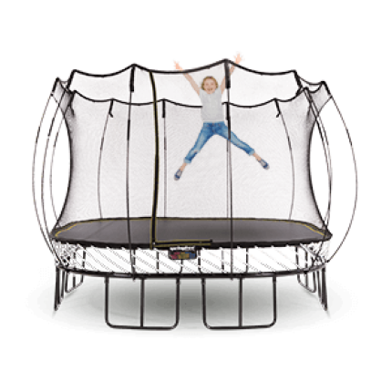 Large Carré Trampoline S113